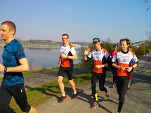 Trening z maratończykiem