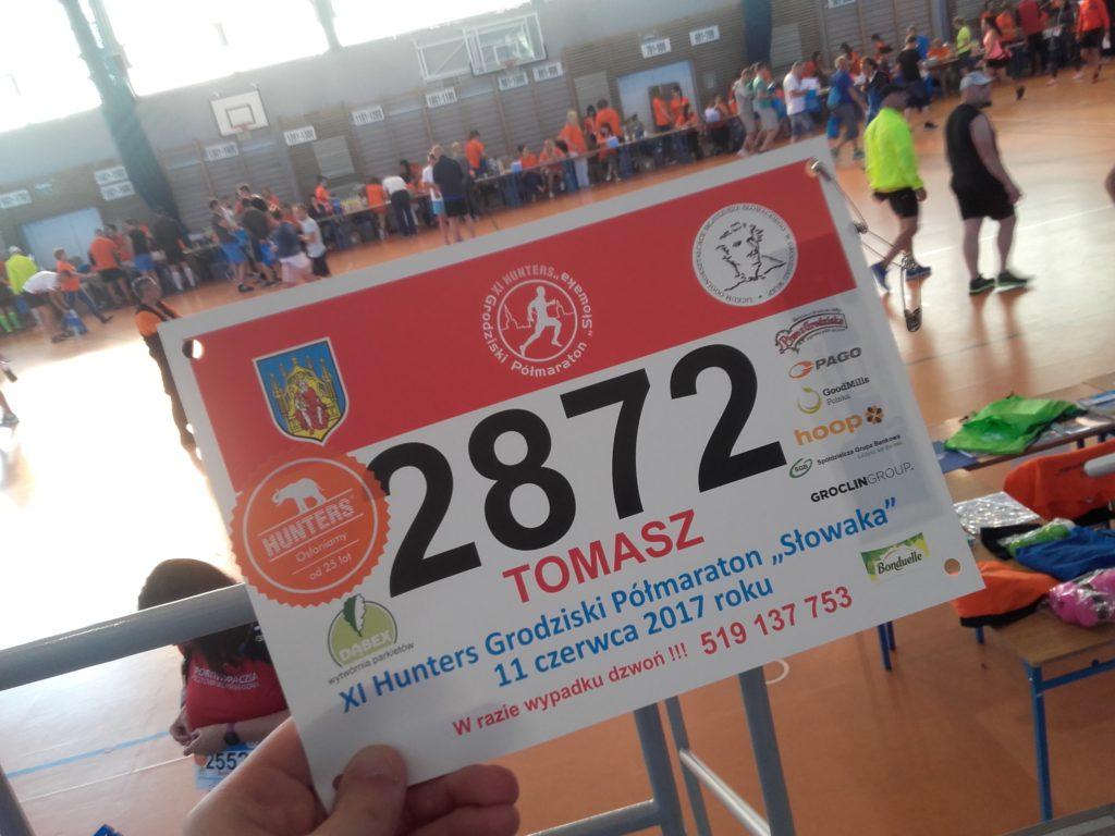 Półmaraton Słowaka 2017 - walka