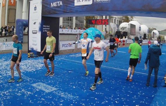 18 Poznań Maraton - finisz